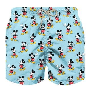 Детски бански - MC2 MICKEY MOUSE PRINT KID'S LIGHT SWIMSHORTS - DISNEY© SPECIAL EDITION